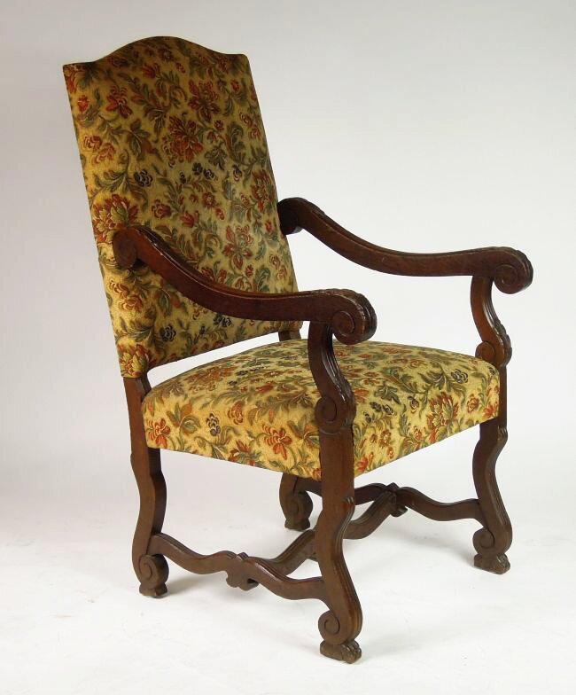 Antyki fotel neorenesansowy