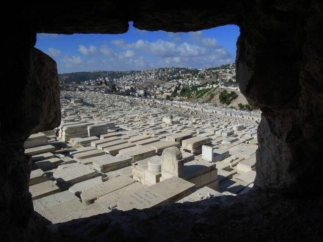 Cmentarz na Górze Oliwnej w Jerozolimie