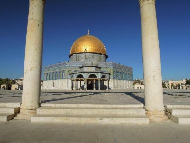 Meczet Al Aksa w Jerozolimie
